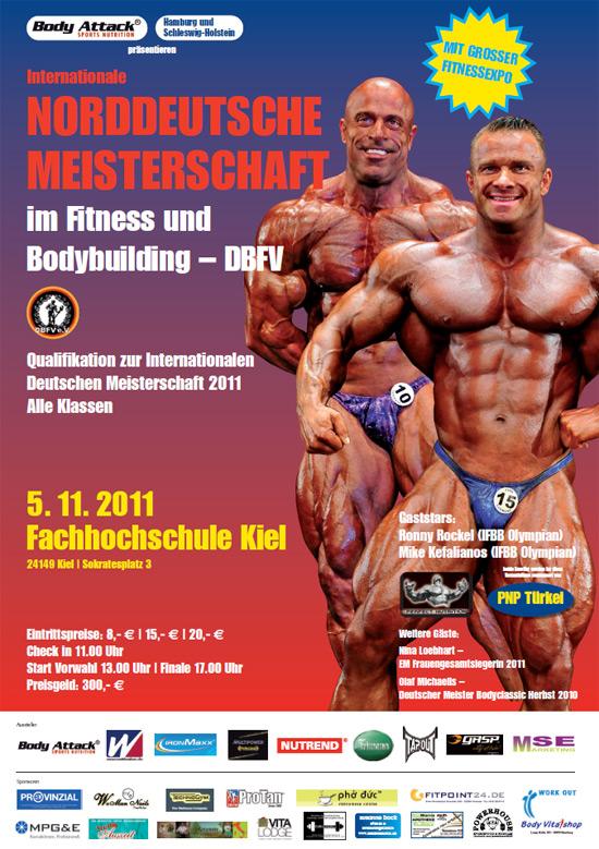 Norddeutsche Meisterschaft im Bodybuilding 2011